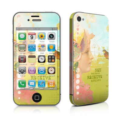 iPhone 4 Skin - See Believe