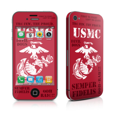 iPhone 4 Skin - Semper Fi