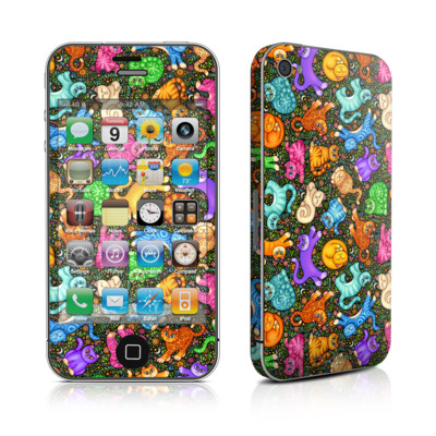 iPhone 4 Skin - Sew Catty