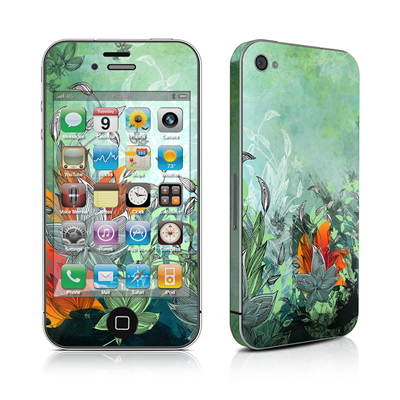 iPhone 4 Skin - Sea Flora