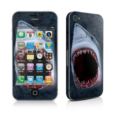 iPhone 4 Skin - Shark