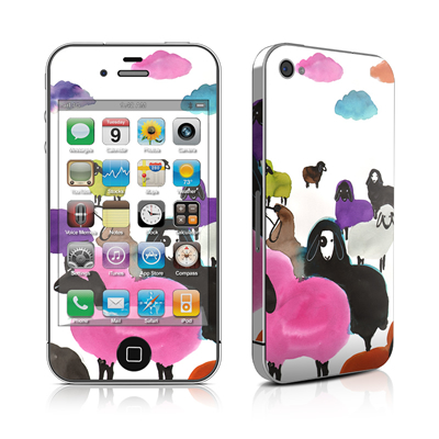 iPhone 4 Skin - Sheeps