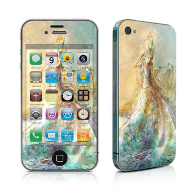 iPhone 4 Skin - The Shell Maiden