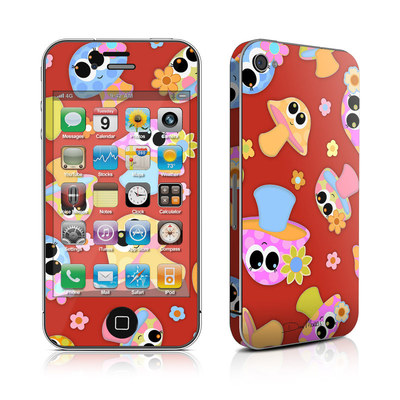 iPhone 4 Skin - Shroomies