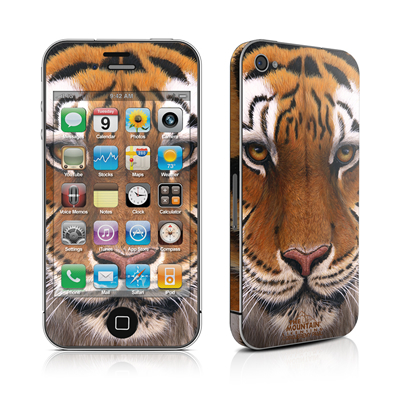 iPhone 4 Skin - Siberian Tiger