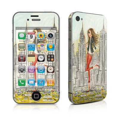 iPhone 4 Skin - The Sights New York