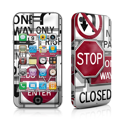 iPhone 4 Skin - Signs