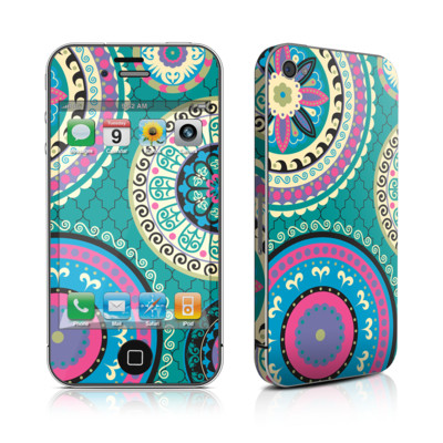 iPhone 4 Skin - Silk Road