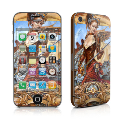 iPhone 4 Skin - Steam Jenny