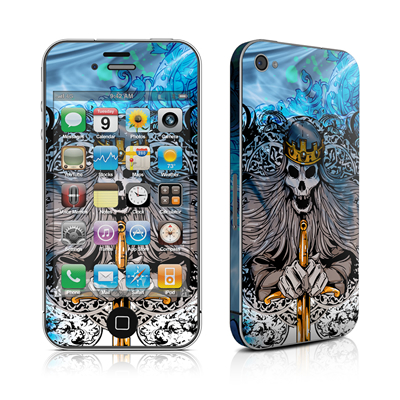 iPhone 4 Skin - Skeleton King