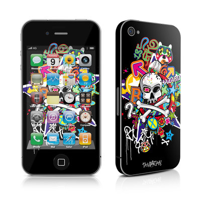 iPhone 4 Skin - Skulldaze