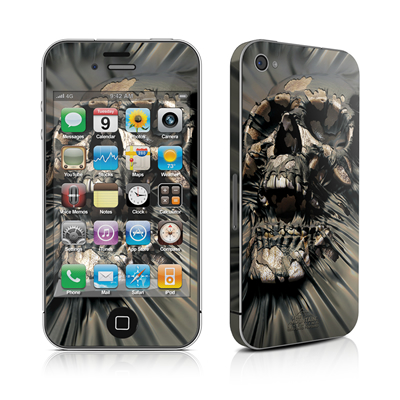 iPhone 4 Skin - Skull Wrap