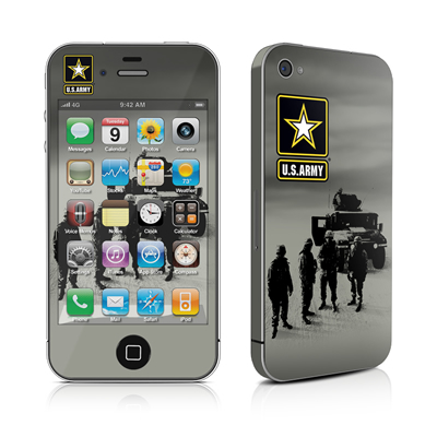 iPhone 4 Skin - Soldiers All