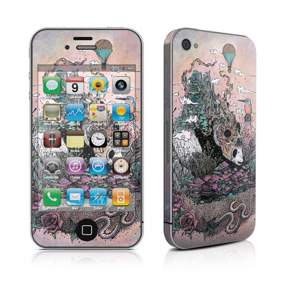 iPhone 4 Skin - Sleeping Giant