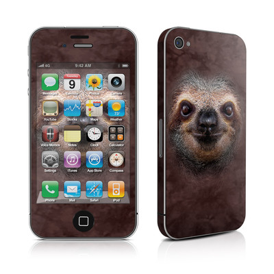 iPhone 4 Skin - Sloth
