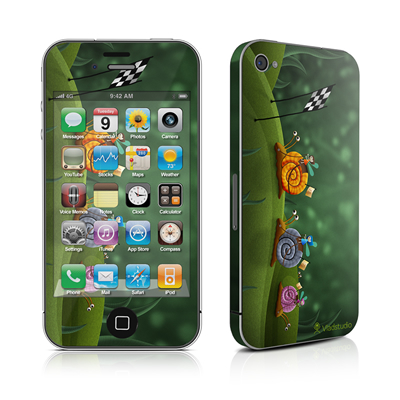 iPhone 4 Skin - Snail Race