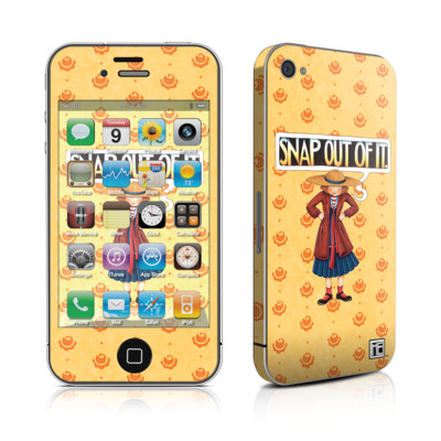 iPhone 4 Skin - Snap Out Of It