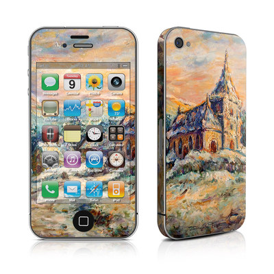 iPhone 4 Skin - Snow Landscape