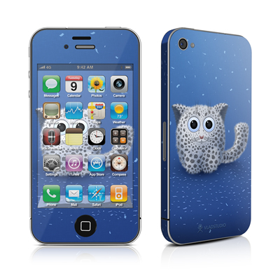 iPhone 4 Skin - Snow Leopard