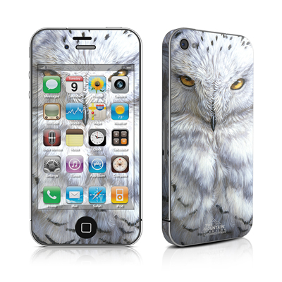iPhone 4 Skin - Snowy Owl