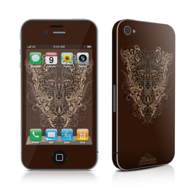 iPhone 4 Skin - Spanish Wolf