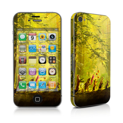 iPhone 4 Skin - Secret Parade