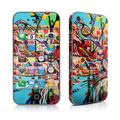 iPhone 4 Skin - Spring Birds
