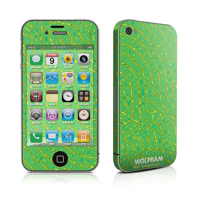 iPhone 4 Skin - Speckle Contours