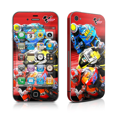 iPhone 4 Skin - Speed Collage