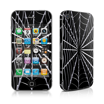 iPhone 4 Skin - Spiderweb