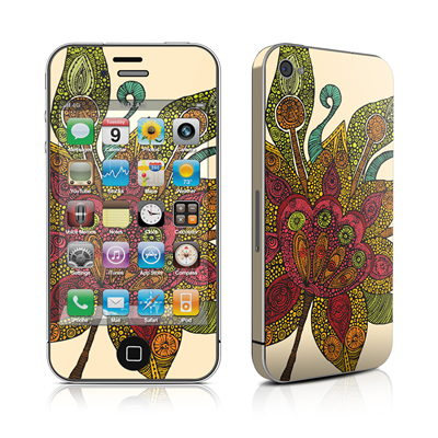 iPhone 4 Skin - Spring Flower
