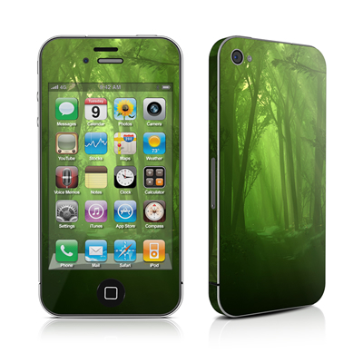 iPhone 4 Skin - Spring Wood