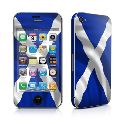 iPhone 4 Skin - St. Andrew's Cross