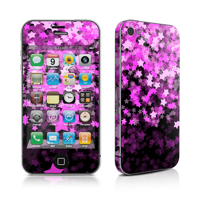 iPhone 4 Skin - Stardust Summer