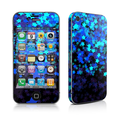 iPhone 4 Skin - Stardust Winter