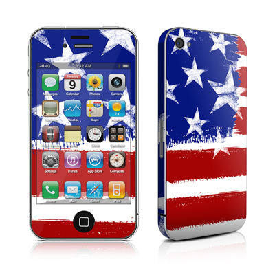 iPhone 4 Skin - Stars + Stripes