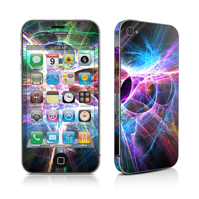 iPhone 4 Skin - Static Discharge