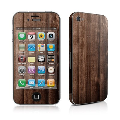 iPhone 4 Skin - Stained Wood