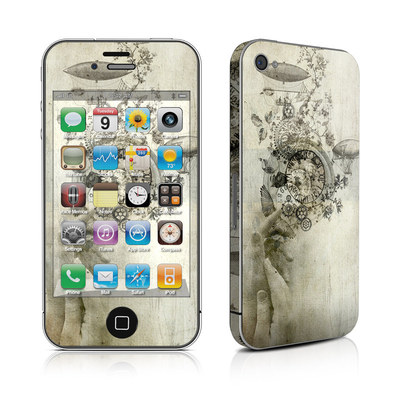 iPhone 4 Skin - Steamtime