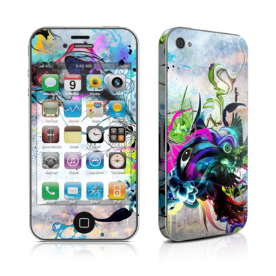 iPhone 4 Skin - Streaming Eye