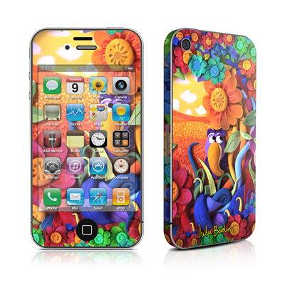 iPhone 4 Skin - Summerbird