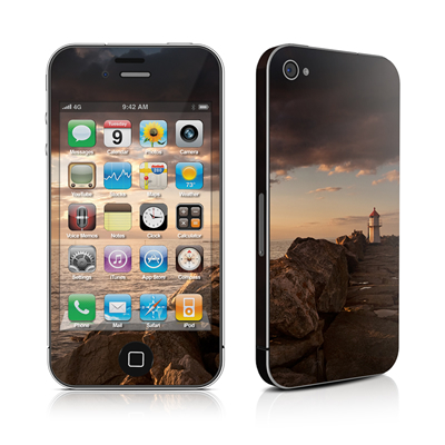 iPhone 4 Skin - Sunset Beacon