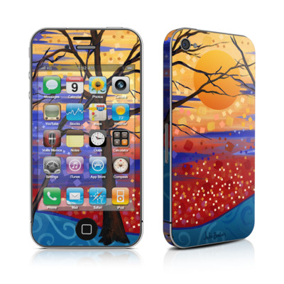 iPhone 4 Skin - Sunset Moon