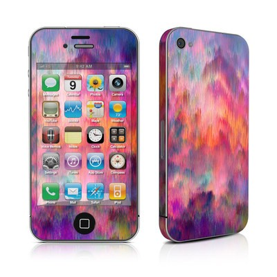 iPhone 4 Skin - Sunset Storm