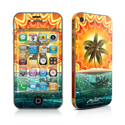 iPhone 4 Skin - Sundala Tropic