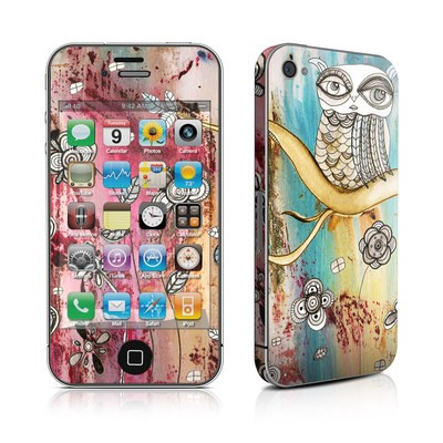 iPhone 4 Skin - Surreal Owl