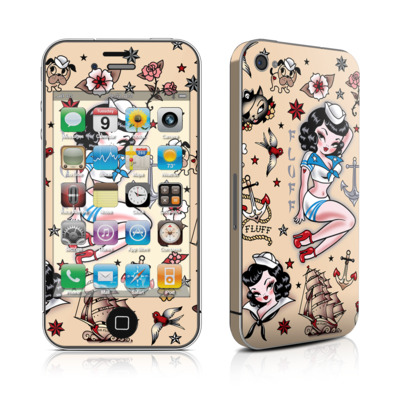 iPhone 4 Skin - Suzy Sailor