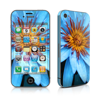 iPhone 4 Skin - Sweet Blue