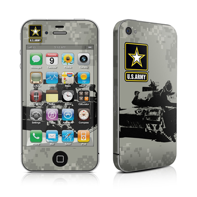 iPhone 4 Skin - Tank Tuff