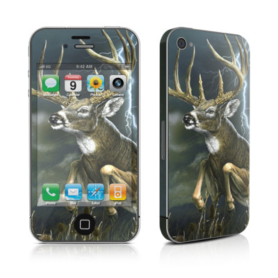 iPhone 4 Skin - Thunder Buck